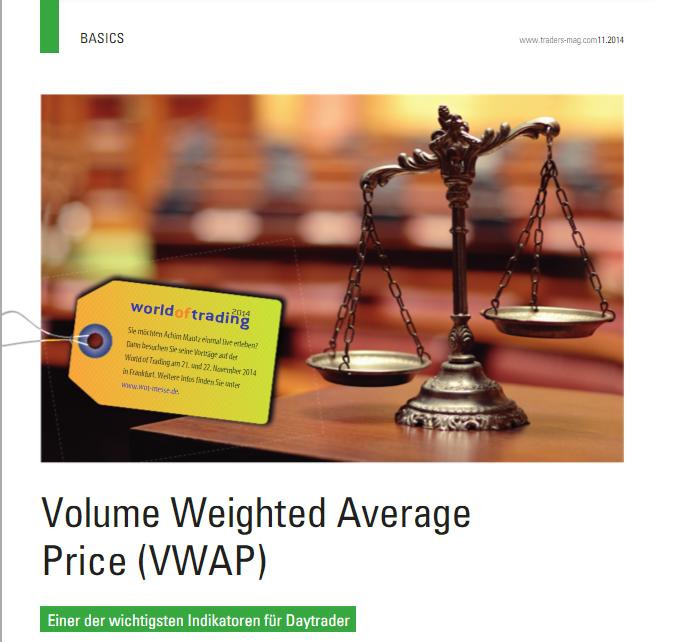 Das Geheimnis des VWAP (volume weighted average price)Profis arbeiten schon seit Jahren mit diesem Indikator, welcher vor allem Daytradern sehr gute Signale im Intradayhandel liefern kann. Achim beschreibt sowohl die Funktionsweise des Indikators, als auch wie er diesen selbst für sich im täglichen Handel nutzt.Klicke auf LIVE VORSCHAU, um den Bericht als PDF zu lesen.[…] weiter…