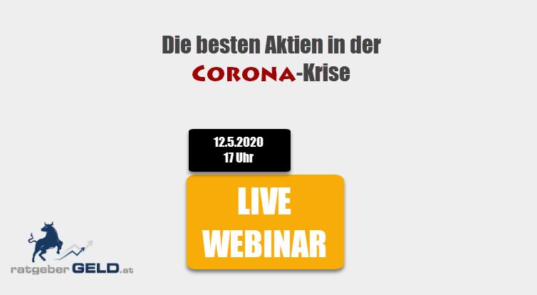 Live Webinar Corona-Krise