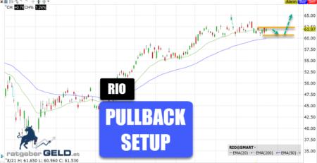 Rio Tinto (RIO) - Bergbau-Aktie